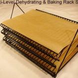 Multi Level Dehydrating and Baking Rack Set
