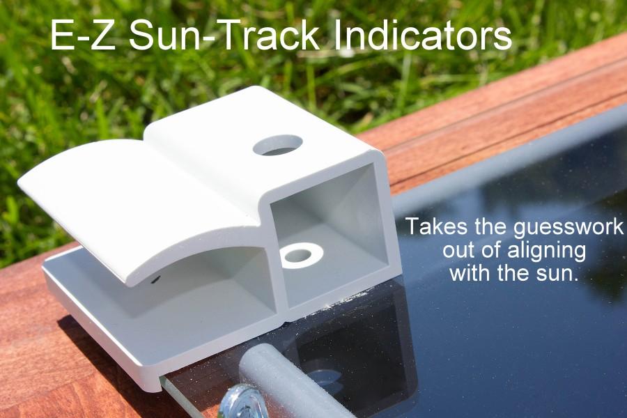 E-Z Sun Track Indicators