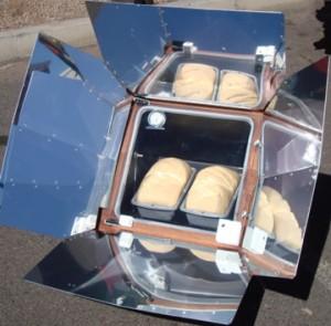 Sun Oven - bread