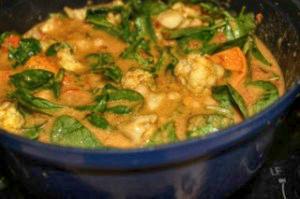 Fall Veggies in a Curry Stew