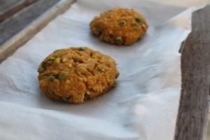 Pumpkin Chickpea Cookies
